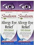 Similasan Allergy Eye Relief Drops-0.33oz, 2 pack