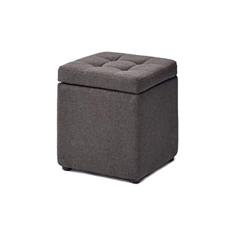 Astounding Amazon Com Kdjbdm Linen Square Cube Stuffed Cube Storage Creativecarmelina Interior Chair Design Creativecarmelinacom