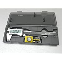 6 DIGITAL ELECTRONIC CALIPER FRACTIONAL 3 Way LCD STAINLESS EZ Cal by i GAGING by EZ CAL
