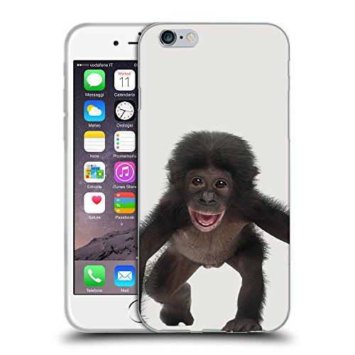 GoGoMobile Coque de Protection TPU Silicone Case pour // Q05570631 Bébé bonobo Platino // Apple iPhone 7