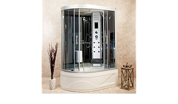 vorich Box ducha hidromasaje bañera sauna y baño turco entrada a ...