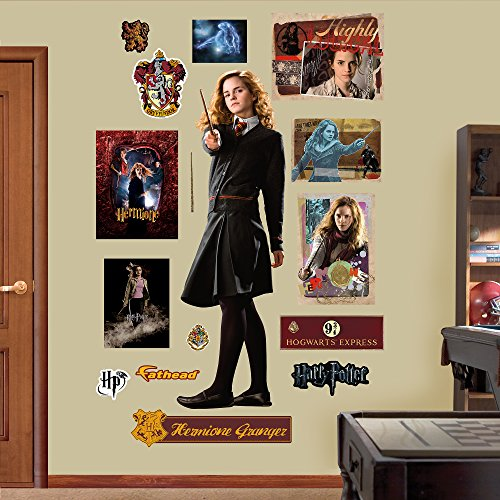 FATHEAD Hermione Granger-Half-Blood Prince Real Decals ()