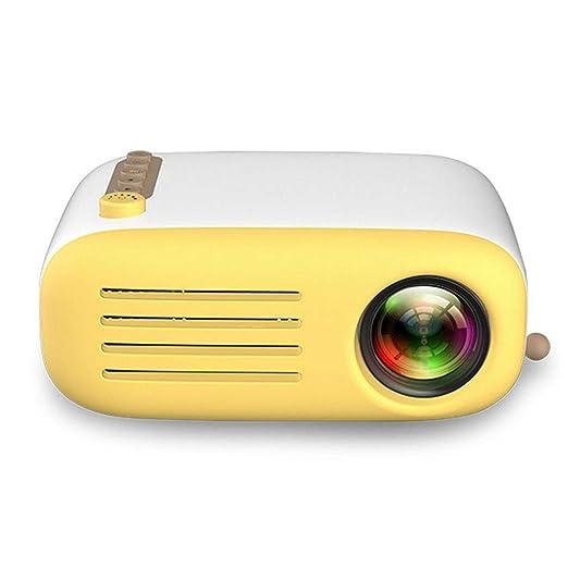 ZM Proyector de Mano portátil Multimedia LED Mini proyector de ...