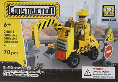 Brictek Small Pneumatic Drill Building Kit