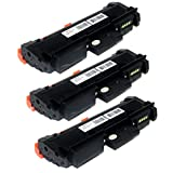 3Pack High Yield 3K TONER4U ® NON-OEM use for Xerox 106R02777 WorkCentre 3215, WorkCentre 3225 Xerox Phaser 3260, Phaser 3052