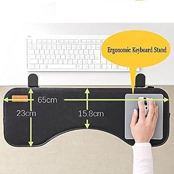 Amazon Com Ergonomic Desk Extender Clamp On Keyboard