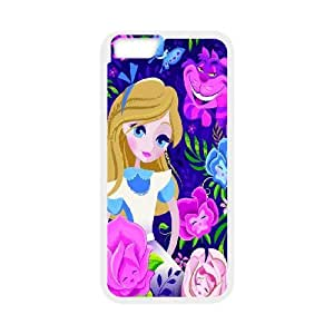 [MEIYING DIY CASE] For Apple Iphone 6 Plus 5.5 inch screen Cases -Alice in Wonderland -Alice -Cheshire Cat-IKAI0447489