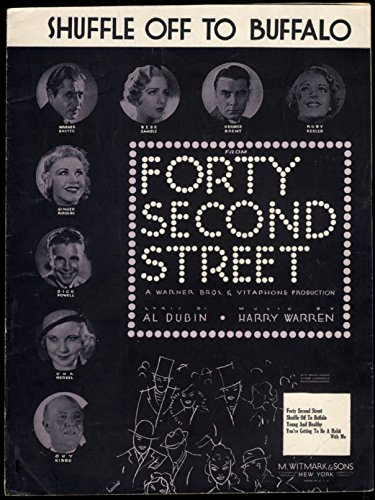 Shuffle Sheet Music (Shuffle Off To Buffalo sheet music Forty Second Street 1932)