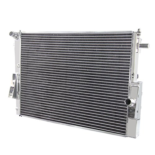 Primecooling 55MM 3 Row Core Aluminum Radiator for 2008-2010 Ford F250 F350 F450 F550 Super Duty 6.4L V8 Turbo Engine