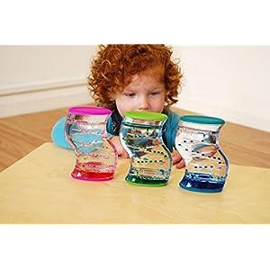 Liquid Sensory Toy / Desktop Toy - Dual Colour Liquid Toy (x1)