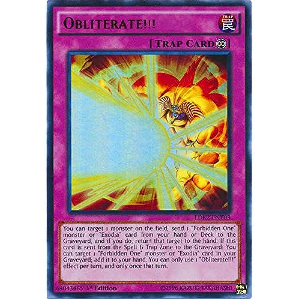 Obliterate!!! LDK2-ENY03 NM Yugioh