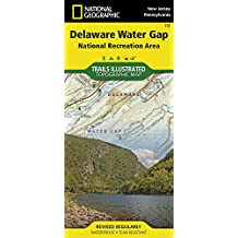 Delaware Water Gap (Trails Illustrated)