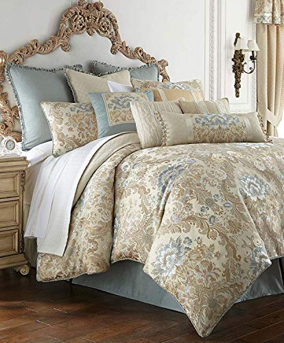 Waterford Fine Linens Luxury Classic Pillow Sham Bedding Brunswick Collection (Standard 20