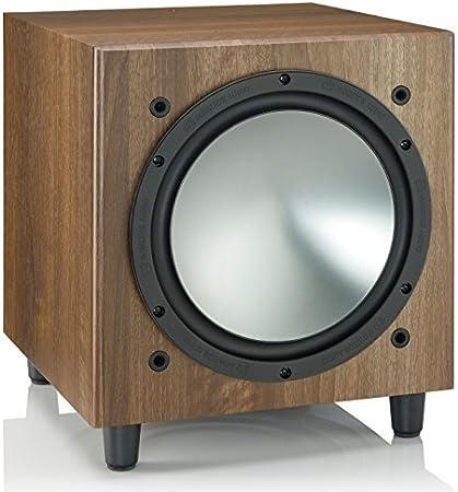Walnut Monitor Audio Bronze Series W 10 Powered Subwoofer