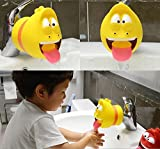 Fanned Faucet Extende-Sink Handle Extender, Safe Fun Hand-Washing Solution for Babies,Teach Your Kids Good Sanitation Habits-Bathtub Faucet Extender Protector for Baby-Child Cute Accessories