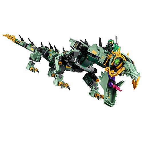 51MM6CTOXaL - LEGO Ninjago Movie Green Ninja Mech Dragon 70612 Building Kit (544 Piece)