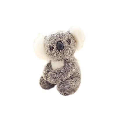 1pcs Koala linda animal de peluche de felpa muñecas de la historieta de la simulación Animales Empuje regalos juguete adorable koala 3D muñecas para niños Kids (17cm / 6.7inch): Bebé