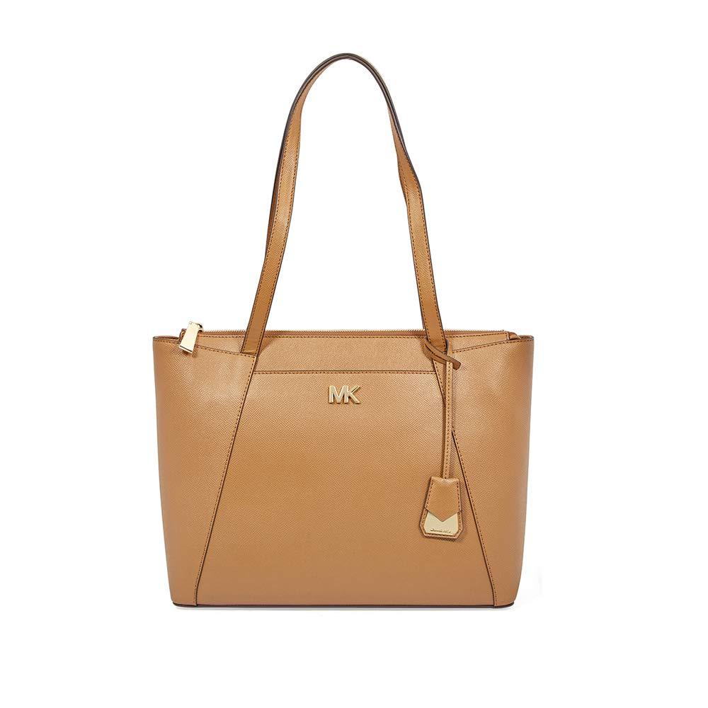 18c5c9b63eadf6 Michael Michael Kors Maddie East/West Top Zip Leather Tote: Handbags:  Amazon.com