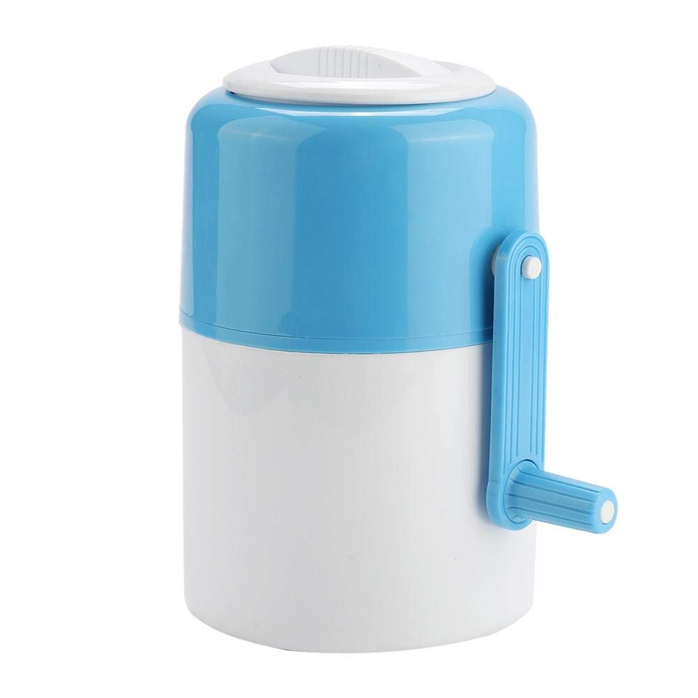 Manual Ice Crusher Portable Household Ice Shaver Snow Cone Maker Fast Crushing Ice Shaver Easy to Use Ice Crusher Hand Crank by Garosa