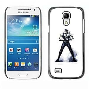 // PHONE CASE GIFT // Duro Estuche protector PC Cáscara Plástico Carcasa Funda Hard Protective Case for Samsung Galaxy S4 Mini i9190 / Máscara de Venom /