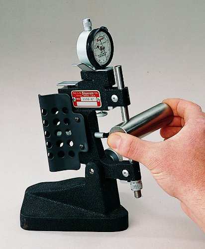 Starrett 1150 Bench Stand For Dial Indicator Snap Gauges