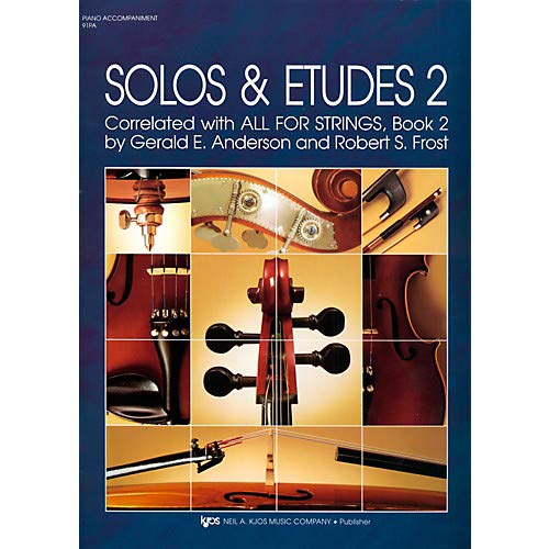 Solos And Etudes-BOOK 2/PIANO ACCOMP Pack of 3 ()