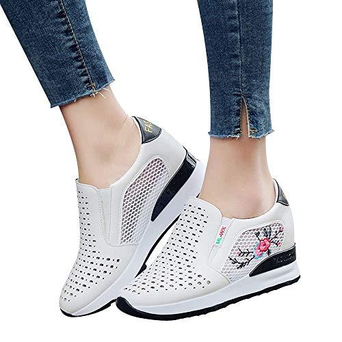 Noir Mesh S Intérieure Mode Respirant amp;h De Occasionnel needra Sport Automne Chaussures Augmentation Brodées Étudiant Hiver YwHZxYqrza