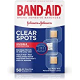BAND-AID Clear Spots Bandages 50 ea ( Pack of 3)