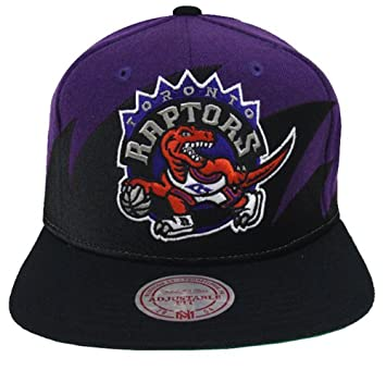 Toronto Raptors Retro Mitchell   Ness Sharktooth Snapback Cap Hat   Amazon.ca  Sports   Outdoors ff689b912a2