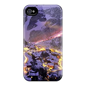 Iphone 4/4S Hard Cases With Awesome Look - CFD10527RauE
