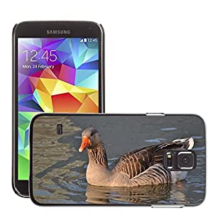 Cas Coq Case Cover // M00106855 Oca Lago Pato Animales Naturaleza // Samsung Galaxy S5 S V SV i9600 (Not Fits S5 ACTIVE)