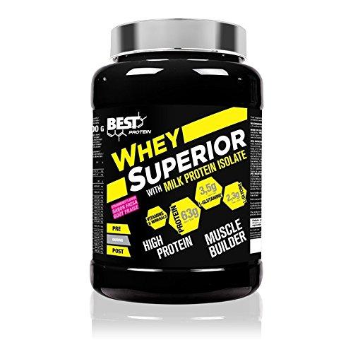 Best Protein Whey Superior Fresa - 2500 gr