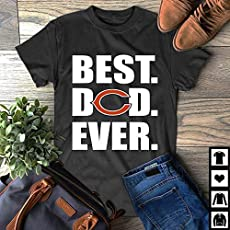 7673f705 Amazon.com: Best Dad Ever Chicago-Cubs New Father's Day Gift T-Shirt ...