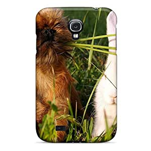New Dog Rabbit Tpu Skin Case Compatible With Galaxy S4