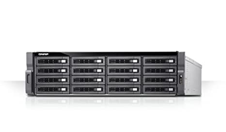 QNAP TDS-16489U Ethernet Bastidor (3U) Negro, Gris NAS - Unidad ...