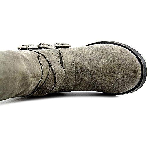 887865269212 - Madden Girl Women's Dakotaaa Motorcycle Boot, Stone, 6 M US carousel main 4