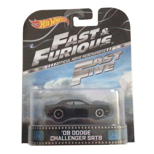 '08 Dodge Challenger SRT8 Fast & Furious Fast Five Hot Wheel