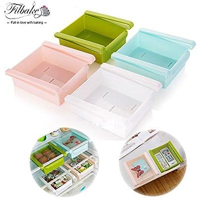 Generic blanco: Creative cajón de frigorífico o congelador estante ...