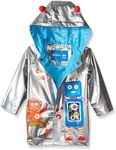 Wippette Baby Boys' Robot Rainwear