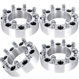 """ECCPP Replacement for 4PCS 1.5"""" 8 Lug Wheel Adapters Spacers 8x6.5 or 8x165.1 126.15mm for Chevy/Dodge Series with 9/16 Studs"""
