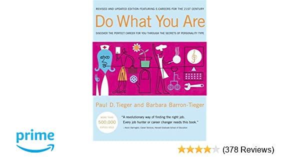 Do What You Are Paul Tieger Pdf