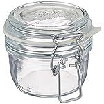 Bormioli Rocco Fido Clear Jar, 4.25 Oz.