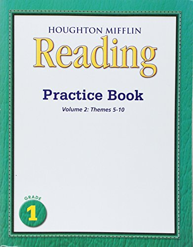 Medallions, Practice Book Consumable Level 1: Houghton Mifflin Medallions California: 2