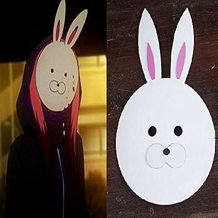 Tipo 2015 – Tokio Ghoul Kirishima Touka Cos Disfraz de conejo máscara máscaras Props
