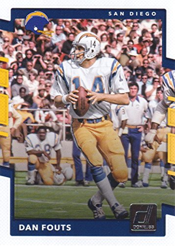 - 2017 Donruss Football #6 Dan Fouts San Diego Chargers