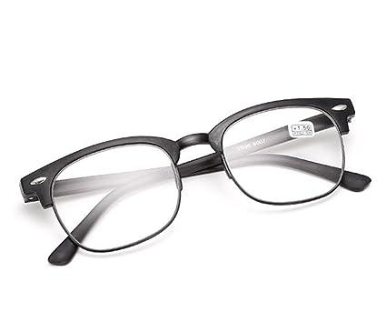 847b12cd7e Outstanding® Moda ligera Hyperopia gafas retro marco de plástico gafas de  lectura para hombres mujeres