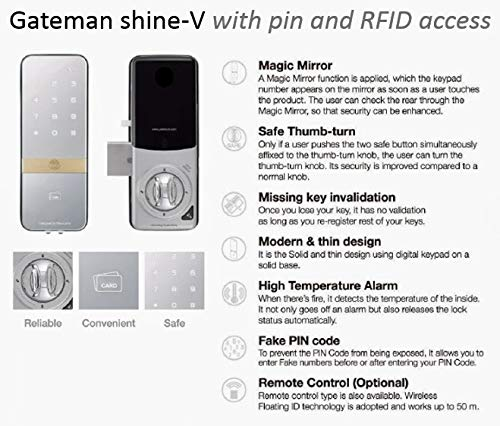 iRevo GATEMAN Shine S Vertical Digital Rim - Vertical Rim