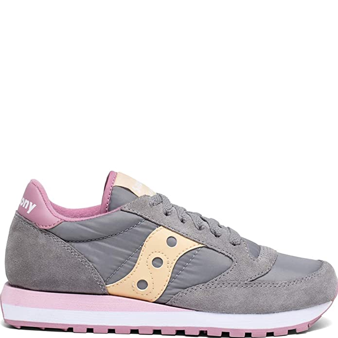 SAUCONY JAZZ ORIGINAL Sneakers GREY ORCHID WHEAT New