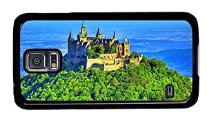 Hipster spec Samsung Galaxy S5 Cases hohenzollern castle PC Black for Samsung S5
