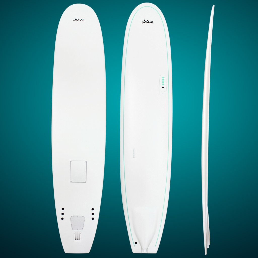 Jetson Grouper con Tabla de Surf, Color Blanco, 23,6 cm: Amazon.es: Deportes y aire libre